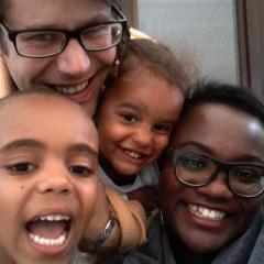 Simon et sa petite famille
