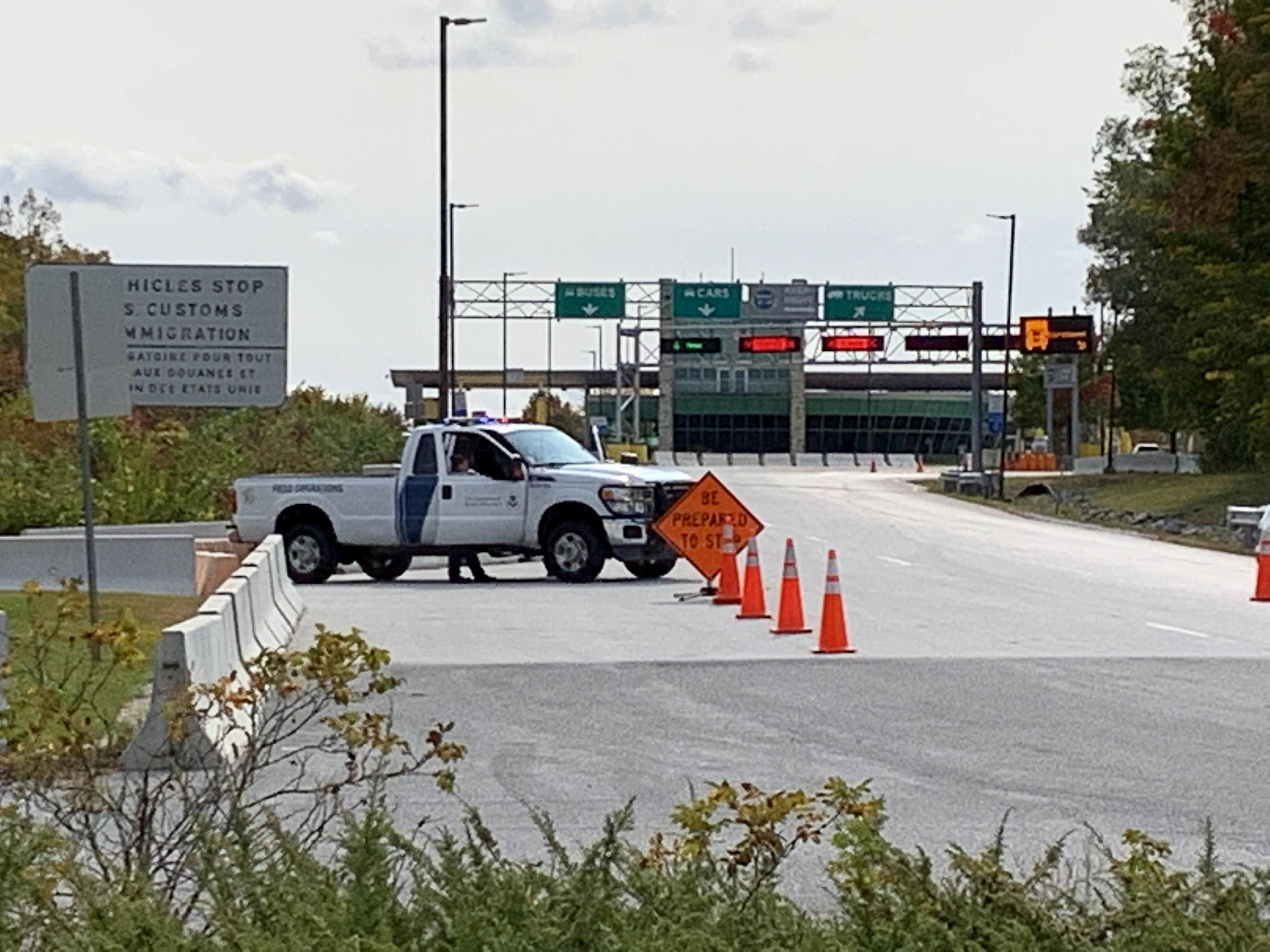 La frontière canado-américaine fermée - 21 novembre